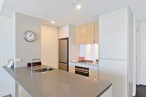 The Kitchen of Horizon 2 Bedroom Apartment at Newcastle Beach
