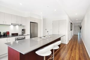 The Kitchen of Worth Place Apartment.