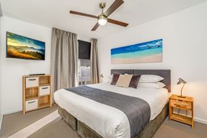 The Master Bedroom of Worth Place Apartment.